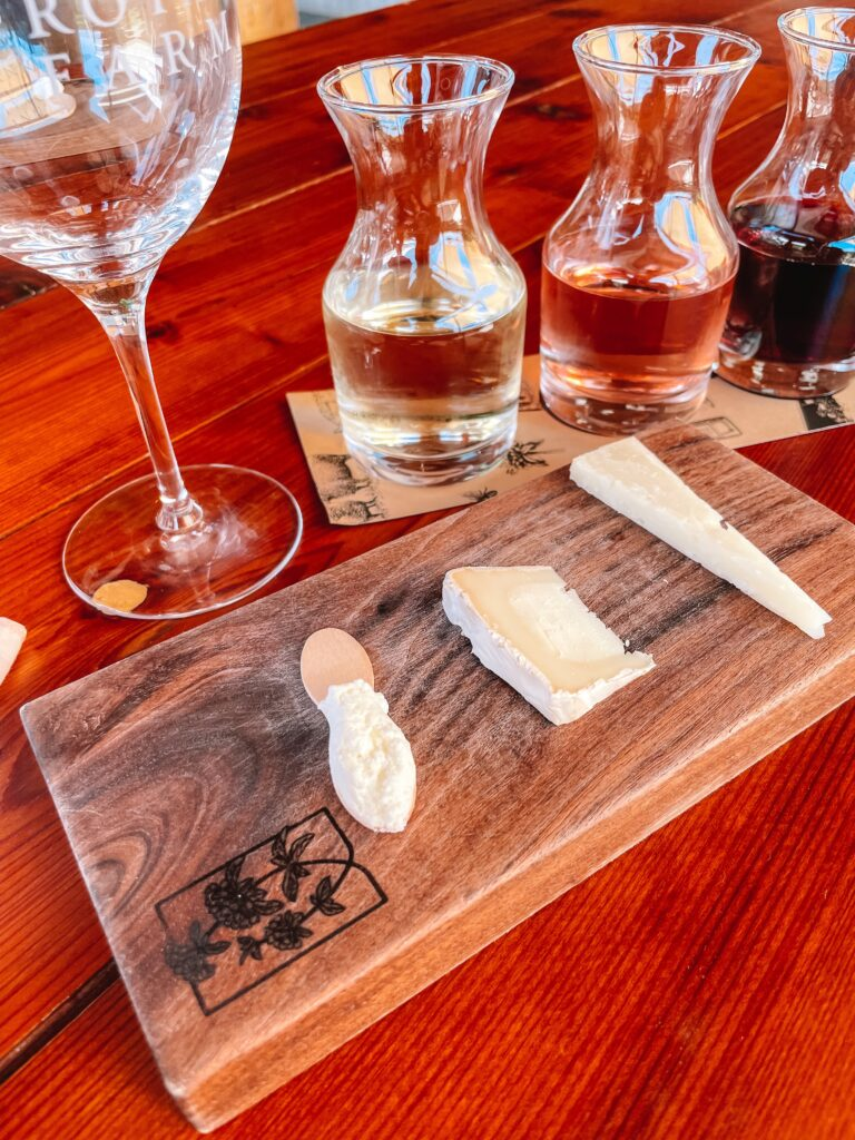pennyroyal farm wine and cheese tasting