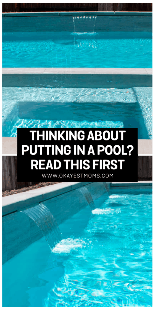 owner builder swimming pool