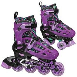 Adjustable Inline Quad Combo Skates
