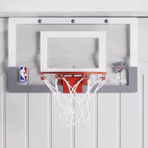 behind the door basketball hoop