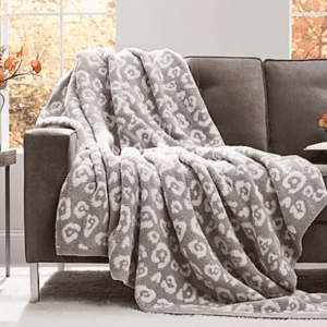 cozy knit throw barefoot dreams dupe